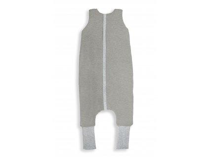 Oboustranný spací pytel s nohavicemi Melange Grey S