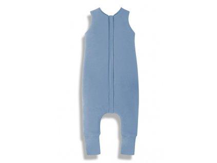 Letní spací pytel s nohavicemi Sleepee modrý