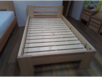 Bukové postel Petra 120x200