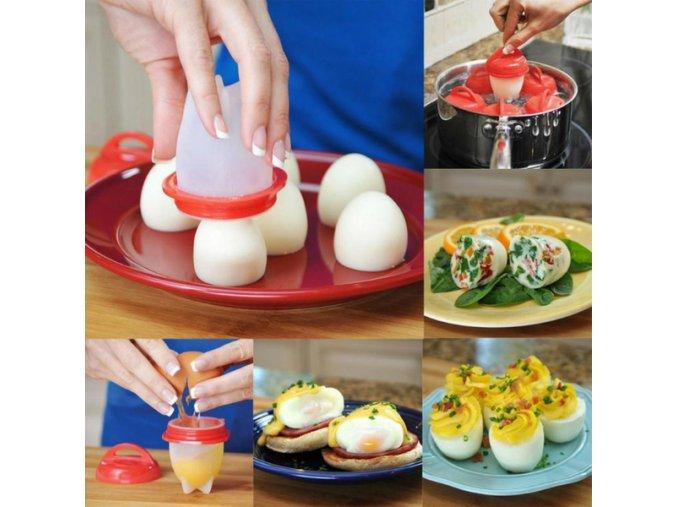 Chytré formičky na vejce (6 kusů)