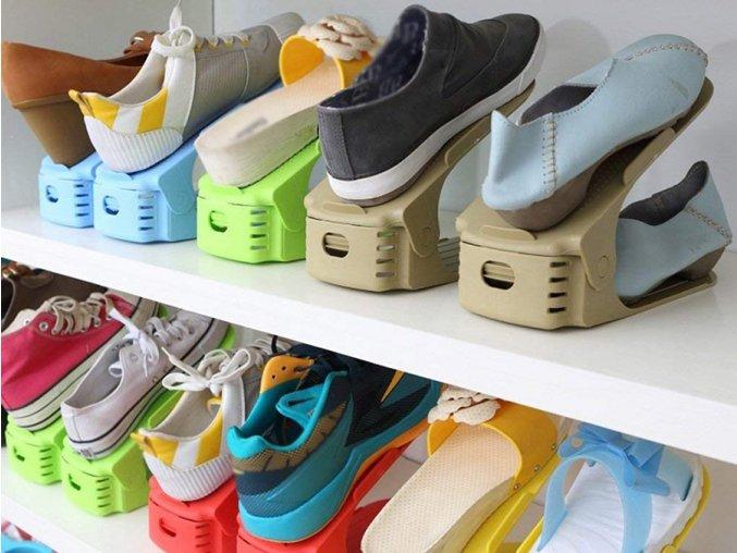 Chytrý organizér na boty