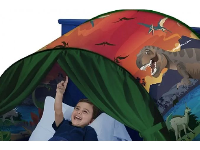 Magický stan na postel