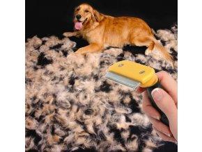 Profesionální hrablo na srst Dog Brush