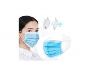 Chirurgická rouška na ústa 50 ks