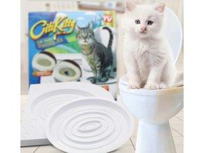 Záchodové prkénko pro kočičky