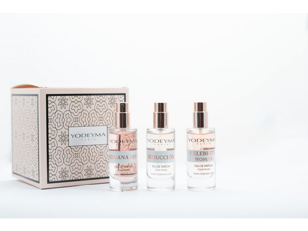 294 1 darkova sada 3x mini parfem pro zeny