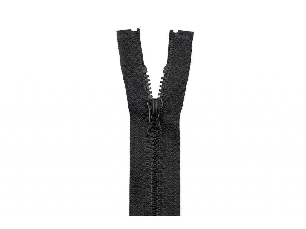 Zip kostěný 3mm děl 75cm