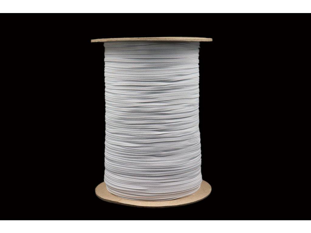 Pruženka prádlová 03mm bílá