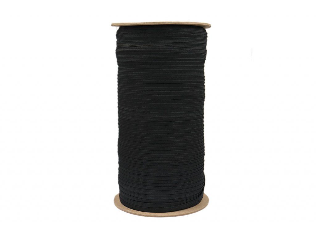 Pruženka prádlová 05mm černá