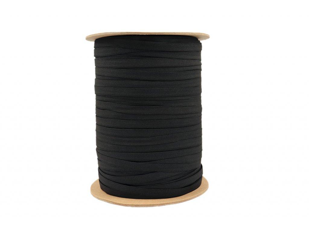 Pruženka prádlová 09mm černá