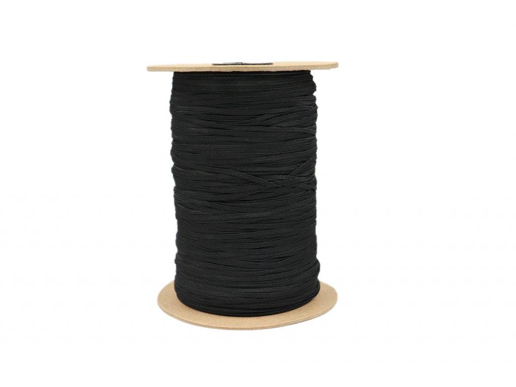 Pruženka prádlová 03mm černá