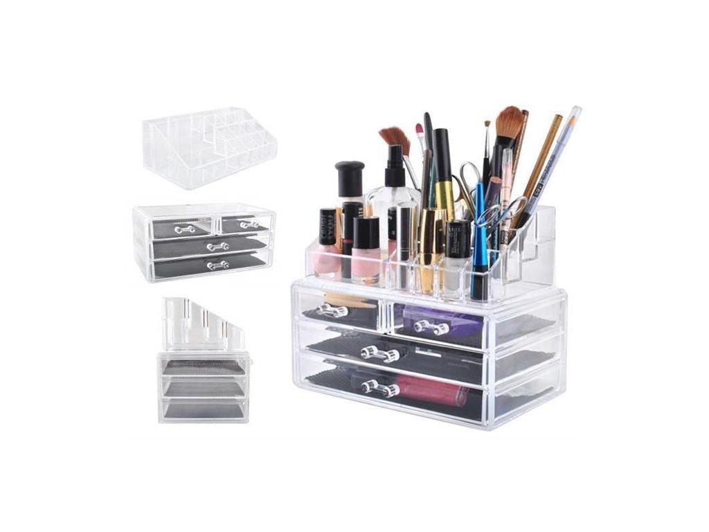 pol pl Organizer na kosmetyki akrylowy 11632 1