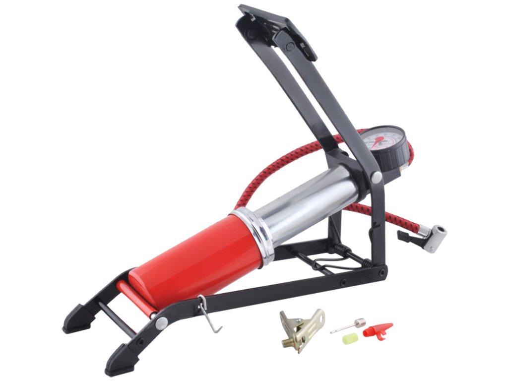 4448 1 nozni pumpa pro motorku i auto 2609