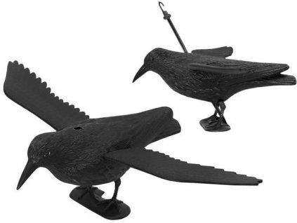 24155 8 odpuzovac holubu a ptaku havran 38 cm 6555