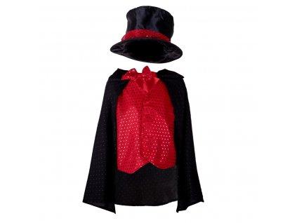 35453 1 detsky kostym kostym kouzelnik kx6918