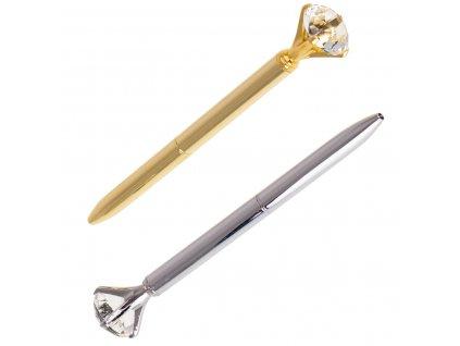 36020 1 kovove pero s velkym diamantem kx7298