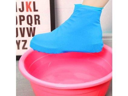 39710 ochranne plastenky na boty modra