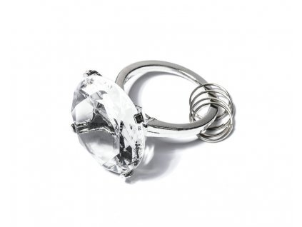 eng pl Diamond key ring pink 590 1