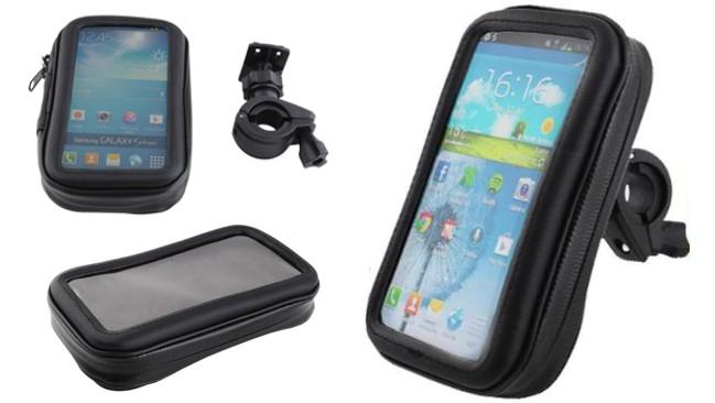 Slevnuj Držák na kolo - pouzdro pro Samsung S3, S4