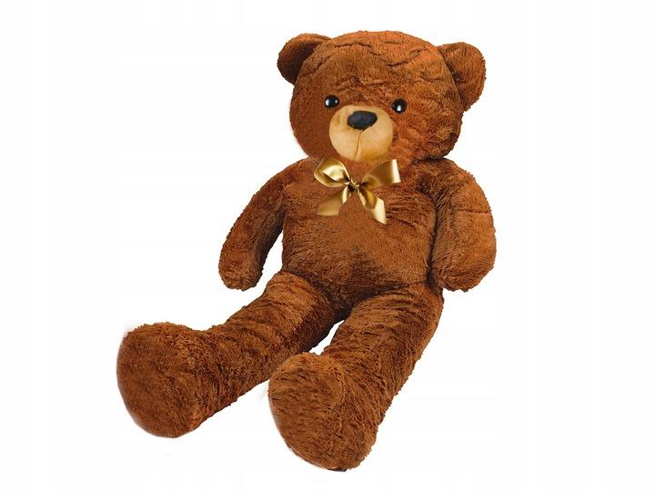 ISO Velký plyšový medvěd 160cm, tmavě hnědý, 4659