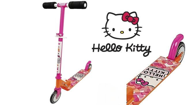 Hello Kitty dětská koloběžka - skládací