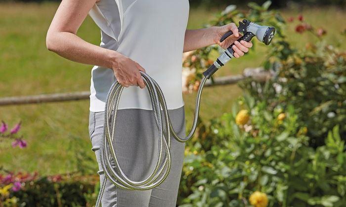 B2B Zahradní nerezová hadice - 22,5m