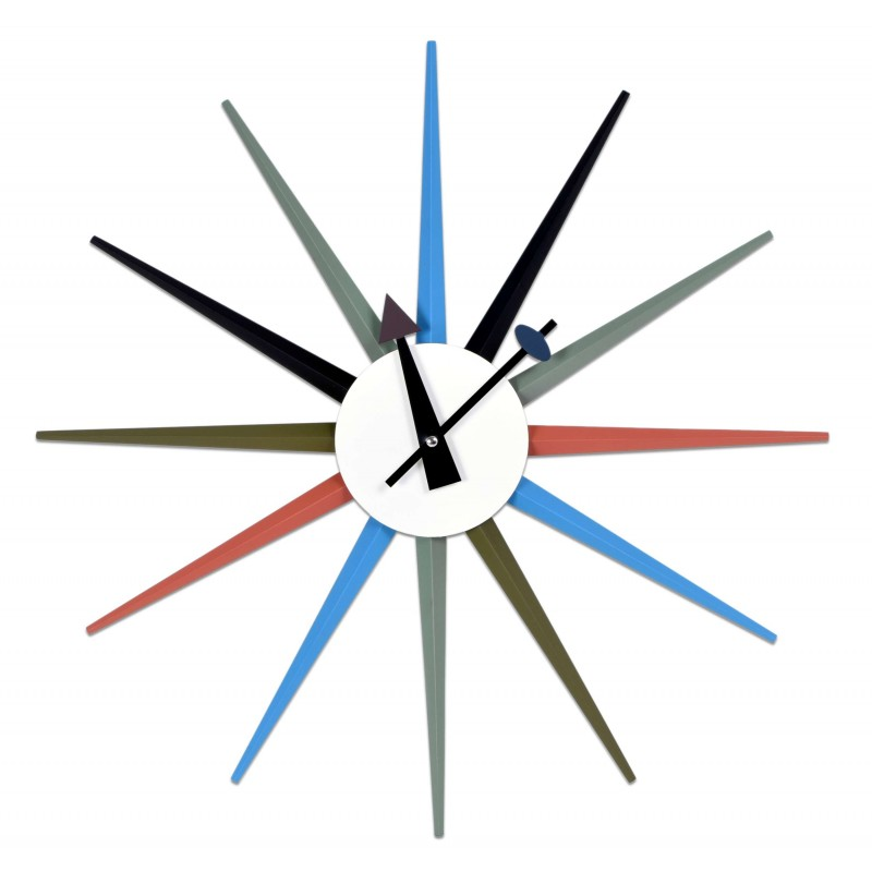 GOC Designové nástěnné hodiny PUGIO 52 cm