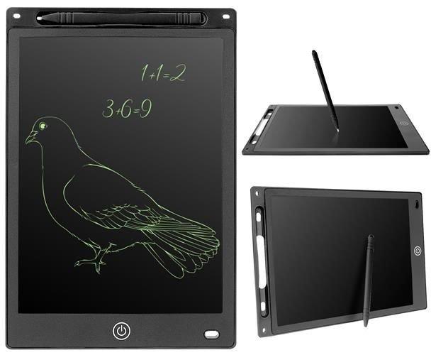 ISO Digitální LCD tabulka 10 palce pro kreslení a psaní černá, 8969