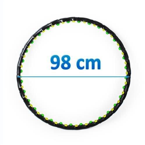 ISO Masážní obruč Hula Hoop - dvojité magnety, 370