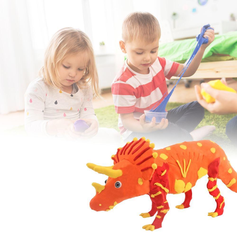 B2B Vymodeluj si dinosaura - Triceratops