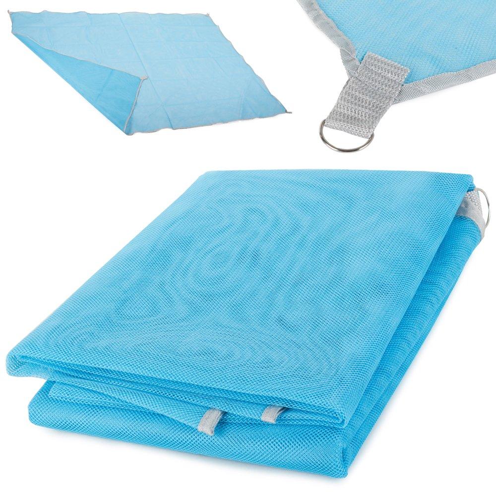 Verk Magická podložka na pláž 200x145cm, modrá, 15486_N