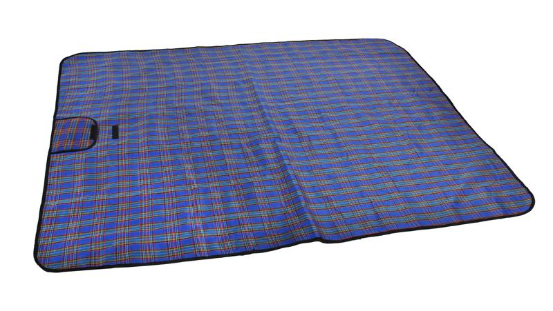 ISO Pikniková deka 150x180cm, modrá, 2450