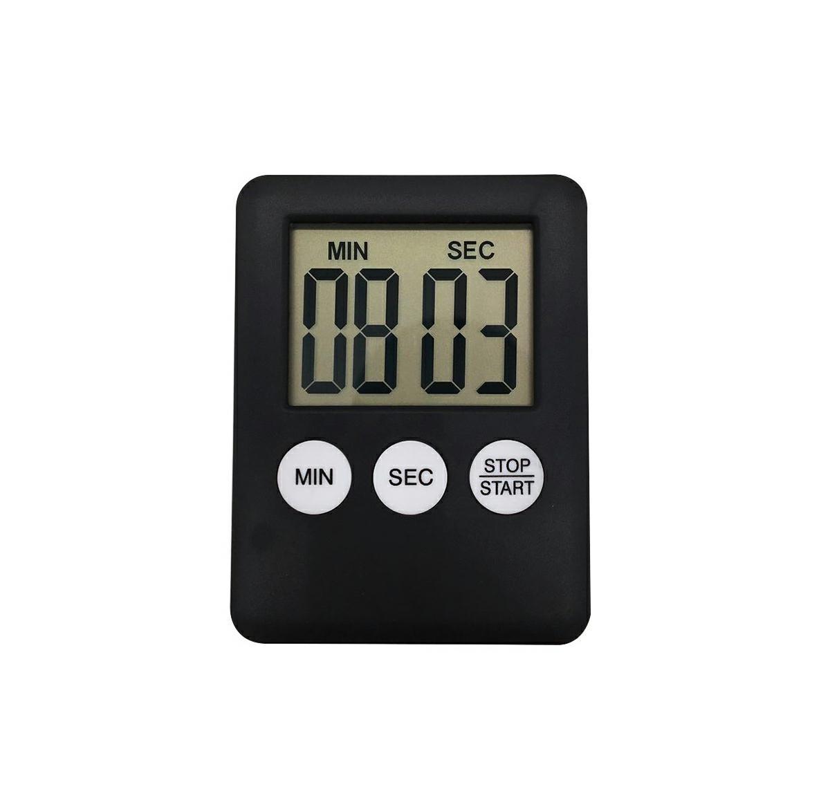 APT Digitální kuchyňská minutka černá, AG674