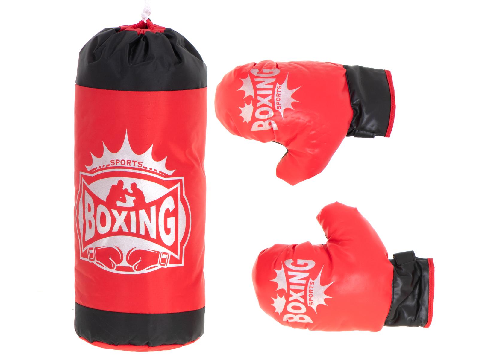 KIK Dětský boxovací pytel s rukavicemi, KX6178