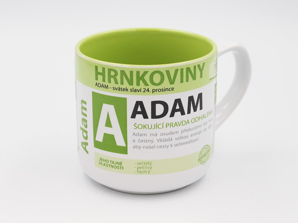 Nekupto Hrnek se jménem ADAM Hrnkoviny