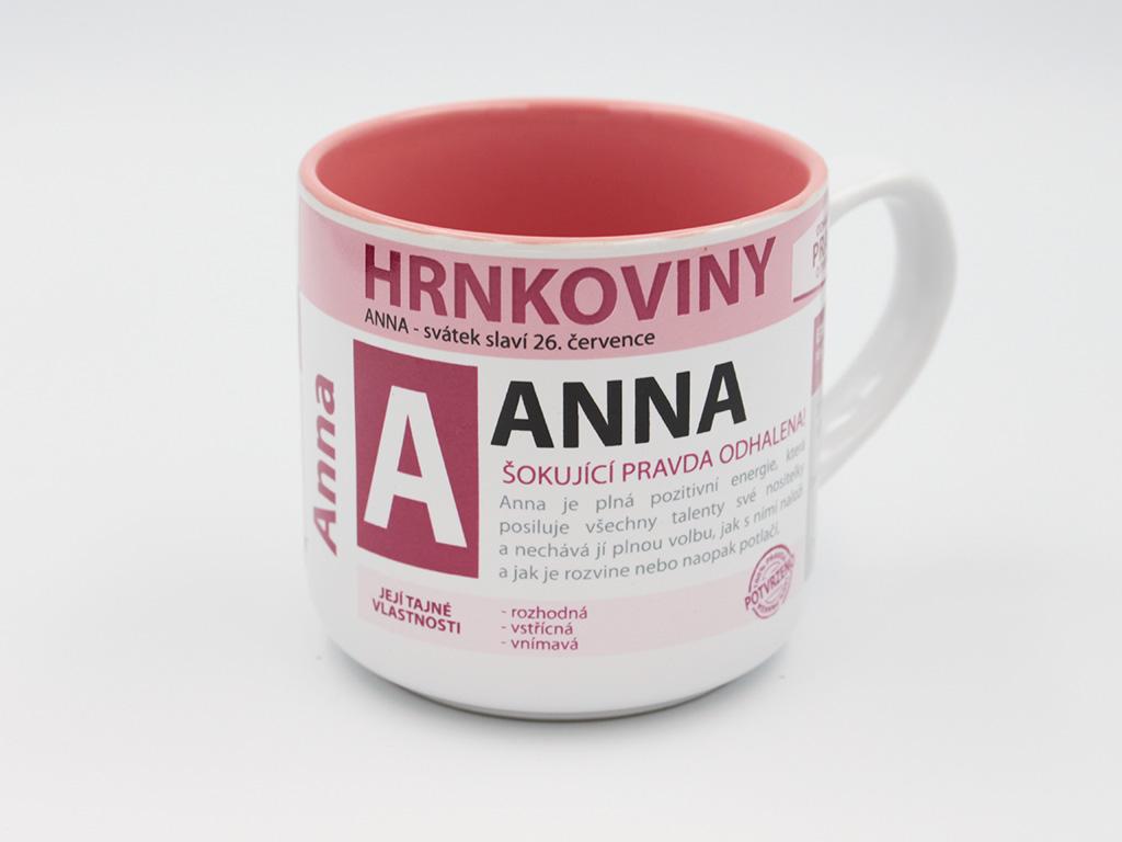 Nekupto Hrnek se jménem ANNA Hrnkoviny