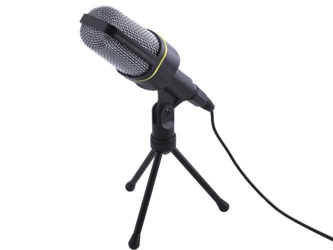 ISO Studiový mikrofon pro PC, černý