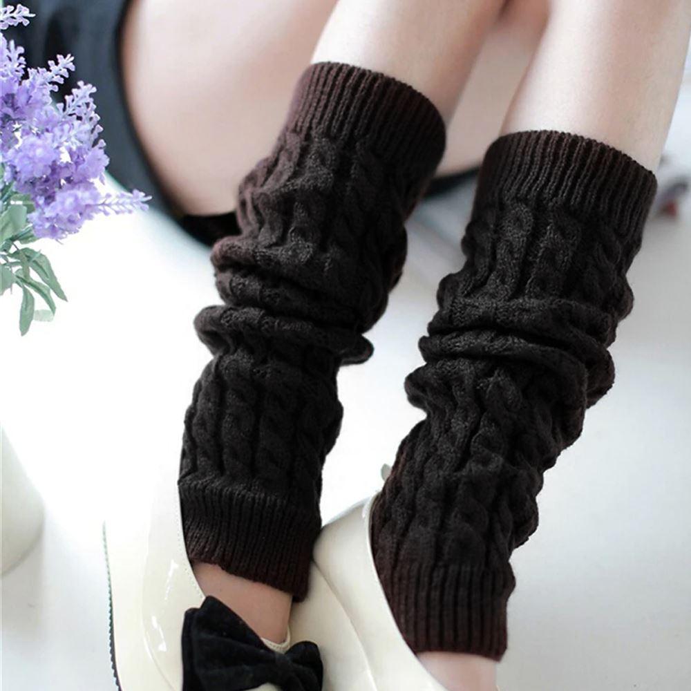 GFT Hřejivé návleky na nohy - černé