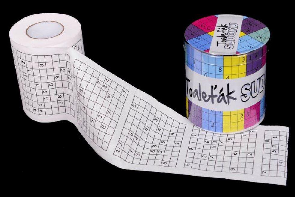 GFT Toaletní papír - Sudoku