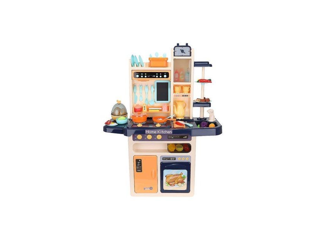 37316 22 detska kuchynka xxl se zvuky a tekouci vodou modra 9571
