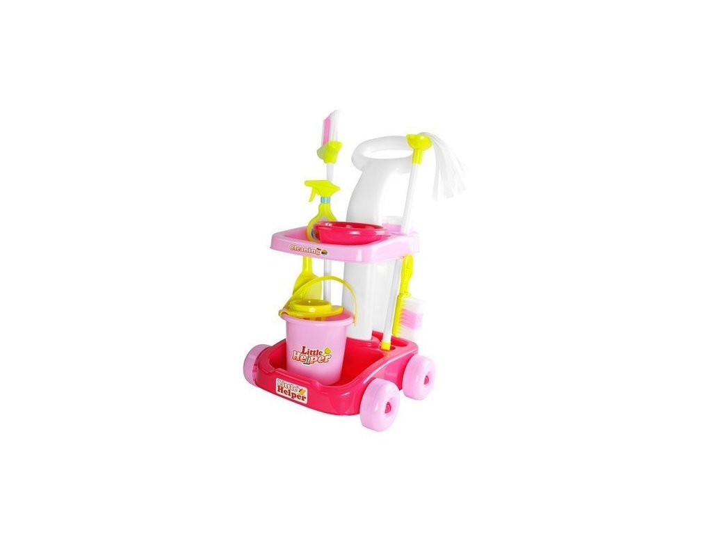 36809 17 detsky uklizeci vozik little helper 9429