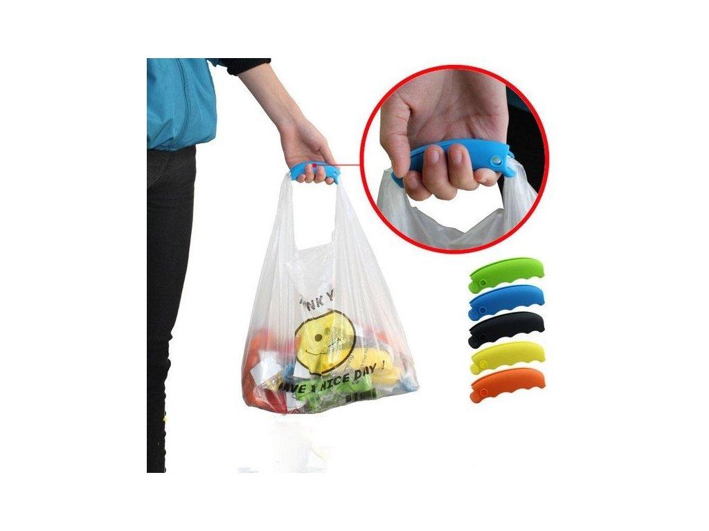 47213 drzak na nakupni tasky modra