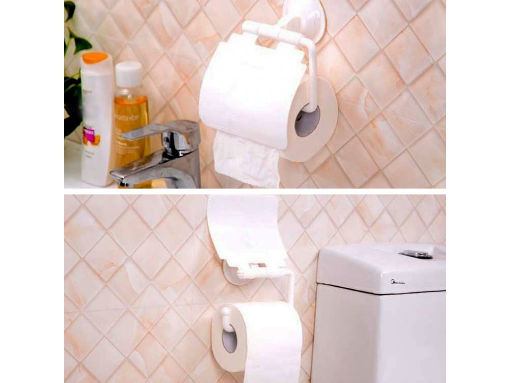 44462 drzak toaletniho papiru s prisavkou
