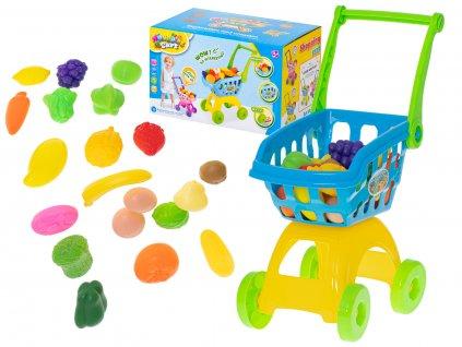 52172 detsky nakupni vozik s prislusenstvim kx6386