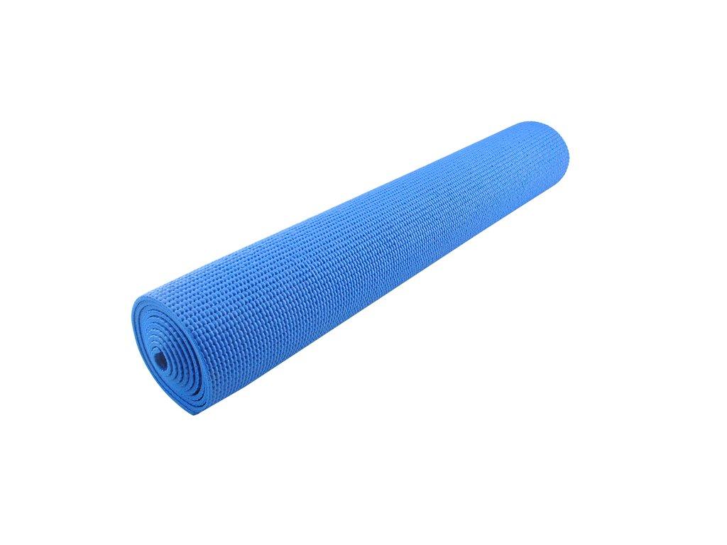 14591 podlozka na cviceni joga fitness modra