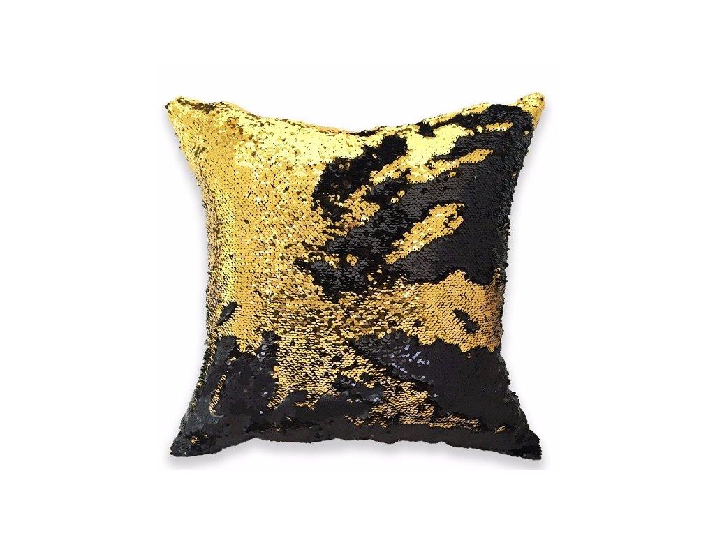 14642 kouzelne povlaky na polstare bella cerno zlata