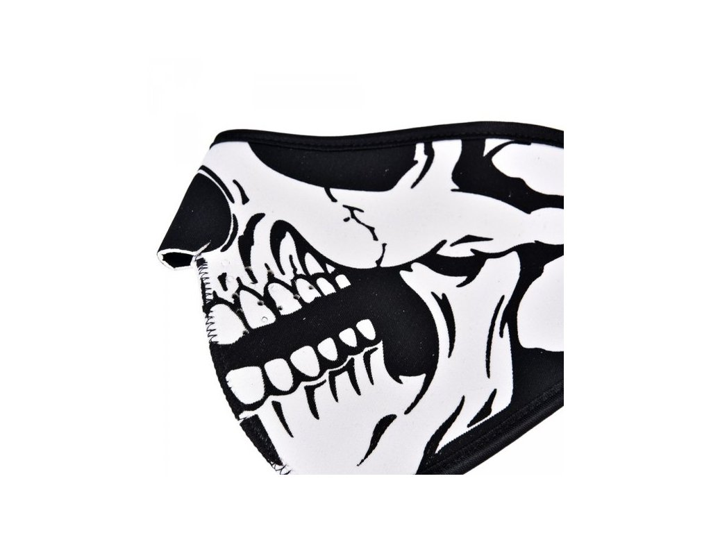 2216 2 neoprenova maska lebka