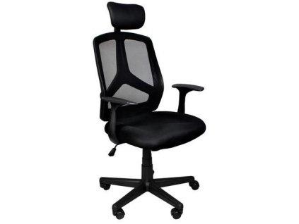 35702 12 kancelarska ergonomicka zidle cerna 8981