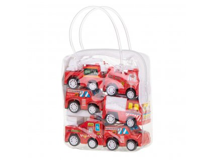 36377 2 sada auta hasici 6ks cervena kx7290
