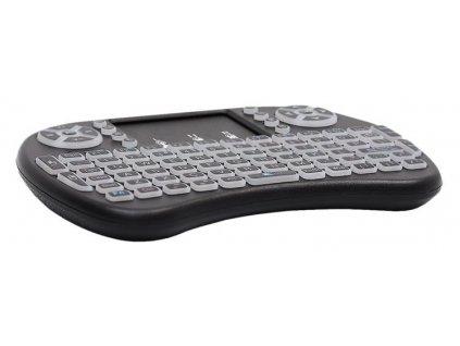 24095 14 mini wireless klavesnice podsvicena 5605